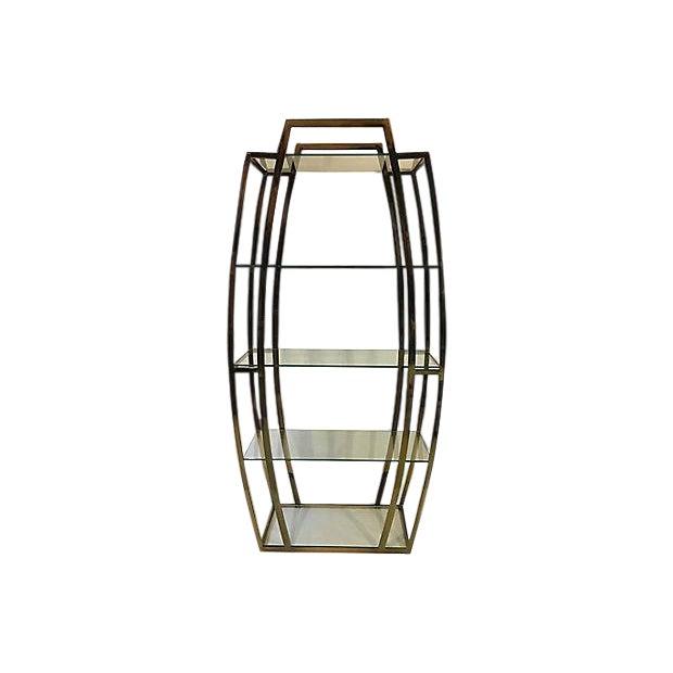 Art deco style etagere chairish for Etagere deco industrielle