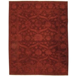 Pasargad NY Indo Tabriz Silk and Wool Rug - 8' x 10'