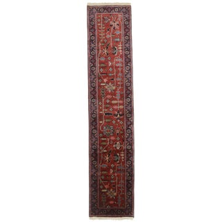 "RugsinDallas Persian Style Hand-Knotted Runner - 2'7"" X 12'1"""