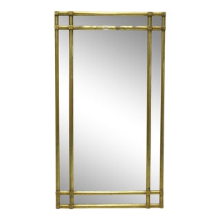 Gilded Bamboo Style Mirror