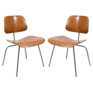 Eames for Herman Miller Dcm Chairs - Set of 2