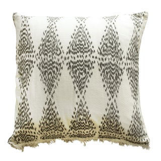 "Large Brunna ""Java Bliss"" Ikat Pillow"