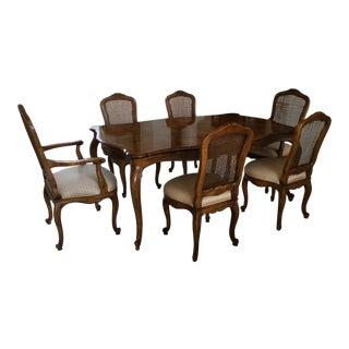 Henredon French Provincial Dining Room Set - S/7