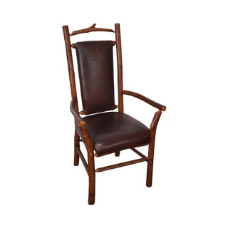 Old Hickory Rustic Arm Chair