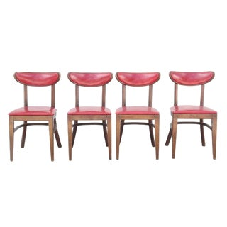Mid-Century Modern Style Dining Chairs - Set of 4