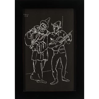 Picasso Reproduction Black & White Prints - S/4
