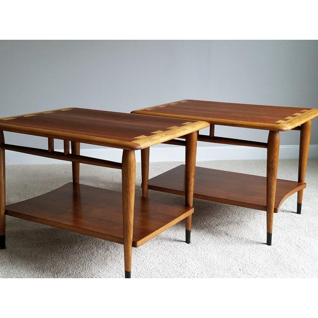 Lane Mid-Century Acclaim Side Tables - A Pair - Image 4 of 8