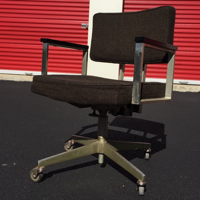 Mid-Century Desk Chair by Good Form Aluminum - Image 2 of 7