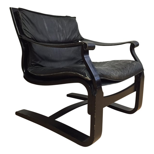 Nelo Leather Lounge Chair - Image 1 of 10