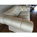Image of MIKE Tufted Sofa with Beverly Upholstery