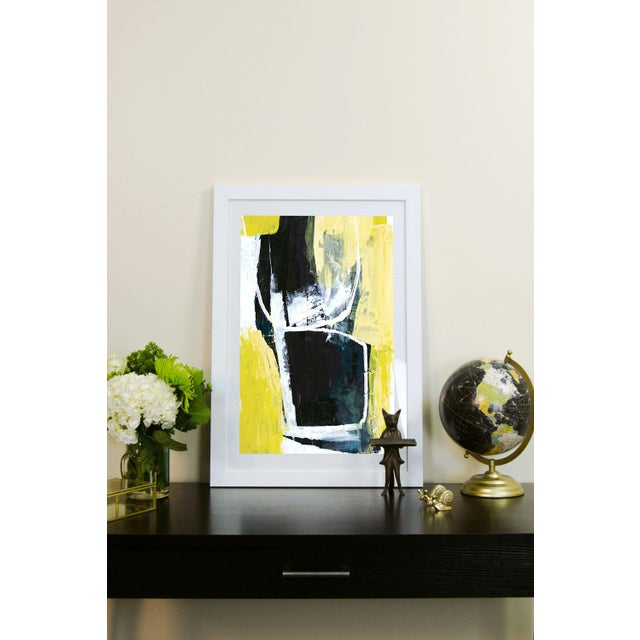 'Yellow Cocktail' by Heather Chontos Framed Print - Image 3 of 3