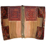 Image of Old Persian Bakhtiari Soumak Khorjin Saddle Bag