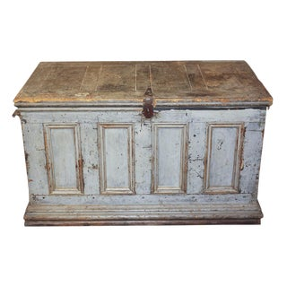 Early 19th c. American Painted Trunk