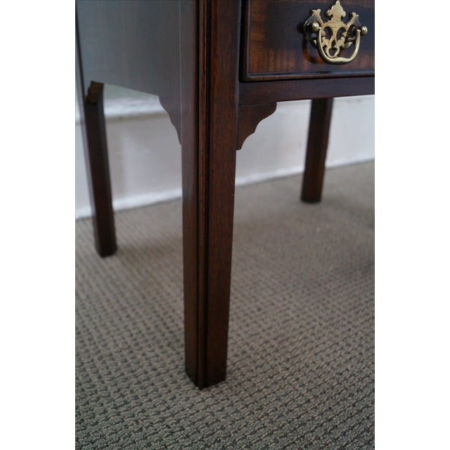 Drexel Heritage Chippendale-Style Nightstand - Image 9 of 10