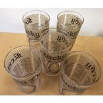 Image of Kentucky Derby Anniversary Glasses - Set of 5