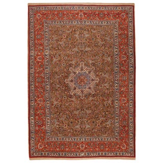 Extremely Fine Persian Saber Meshed Carpet