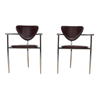Arrben Italy Arm Chairs - A Pair
