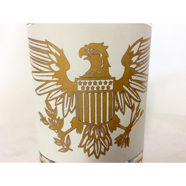 American Bald Eagle 24k Highballs - Set of 7 - Image 4 of 5