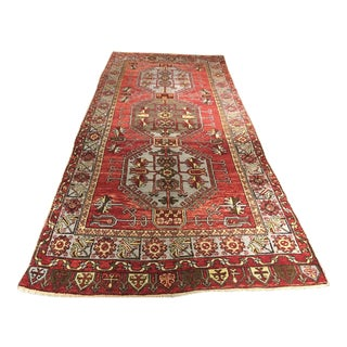 Bellwether Rugs Vintage Turkish Oushak Runner - 5'x11'9""