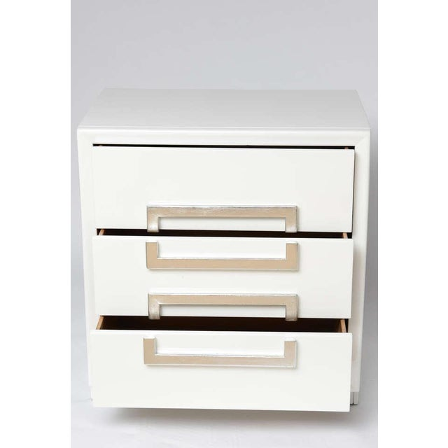 Pair of Lacquered Vintage Kittinger Cabinets - Image 6 of 8