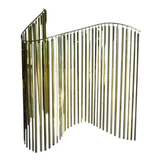 Modern Brass Wall Sculpture