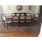 Image of Baker Mahogany Dining Set - Set of 11