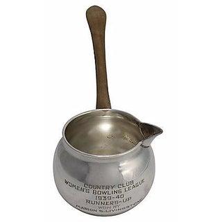 1939-40 Women's Bowling Silver-Plate Trophy Ladle