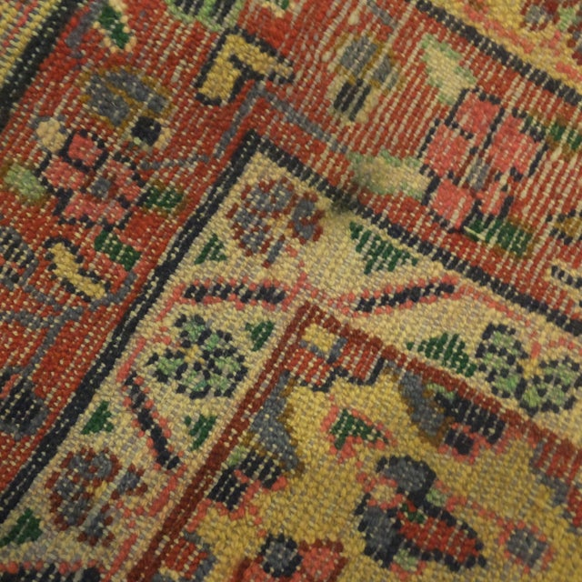 "Persian Hamadan Runner Rug - 9' x 3'6"" - Image 4 of 5"
