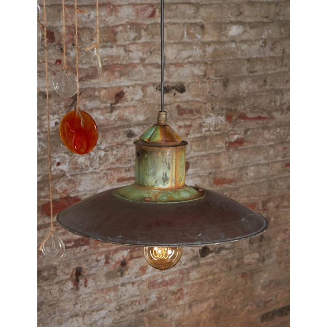 Danish Copper Pendant Lamp - Image 5 of 6