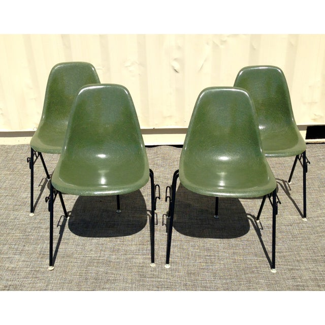 Image of Eames Herman Miller Dss Chairs - Set of 2
