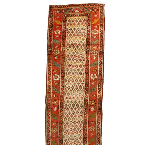 Antique 19th Century Persian Bidjar Runner - Image 1 of 1