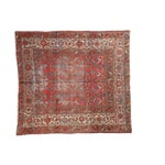 """Antique Distressed Malayer Rug - 5'1"""" X 5'7"""""""