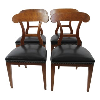 Swedish Biedermeier Dining Chairs- Set of 4
