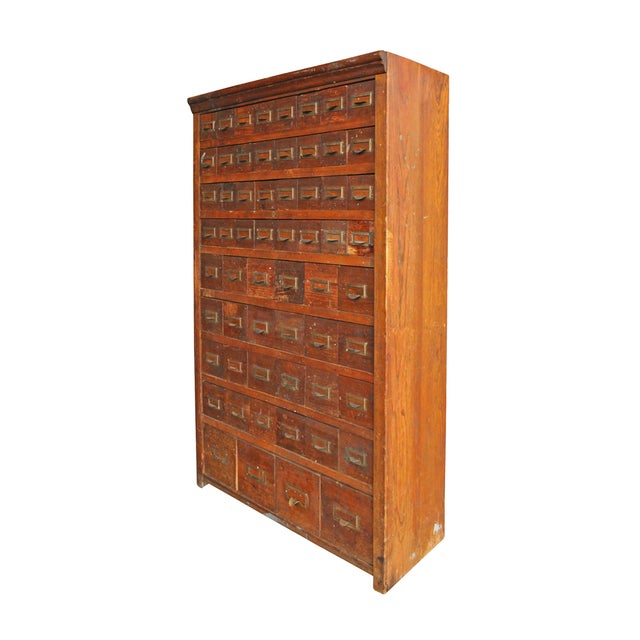 Victorian Oak Multi-Drawer Cabinet - Image 2 of 6