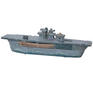 1950's Wooden Boat Model