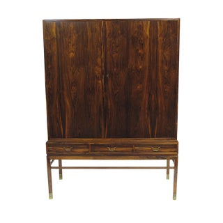 Danish Cabinetmaker Rosewood Sideboard