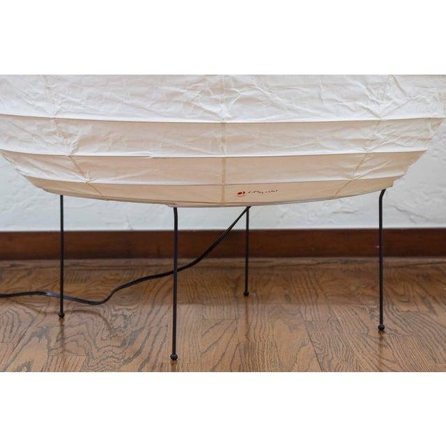 Large Isamu Noguchi Akari 23n Floor Lamp - Image 7 of 8