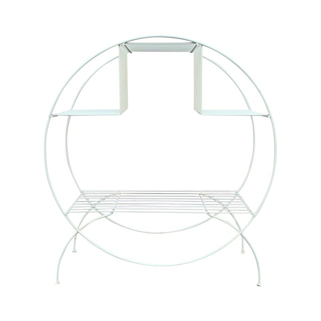 Mid Century Modern Wire Plant Stand - Image 1 of 6