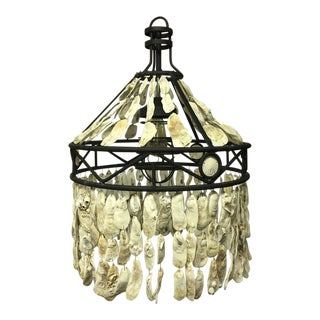 Oyster Shell Chandelier