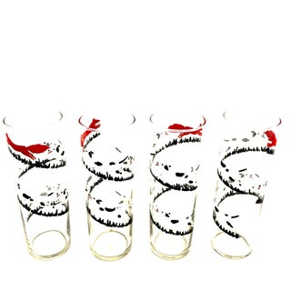 Libbey Fox & Hound Glasses - Set of 4