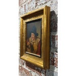 Image of 19th Century Dutch Stein Drinker Oil Painting