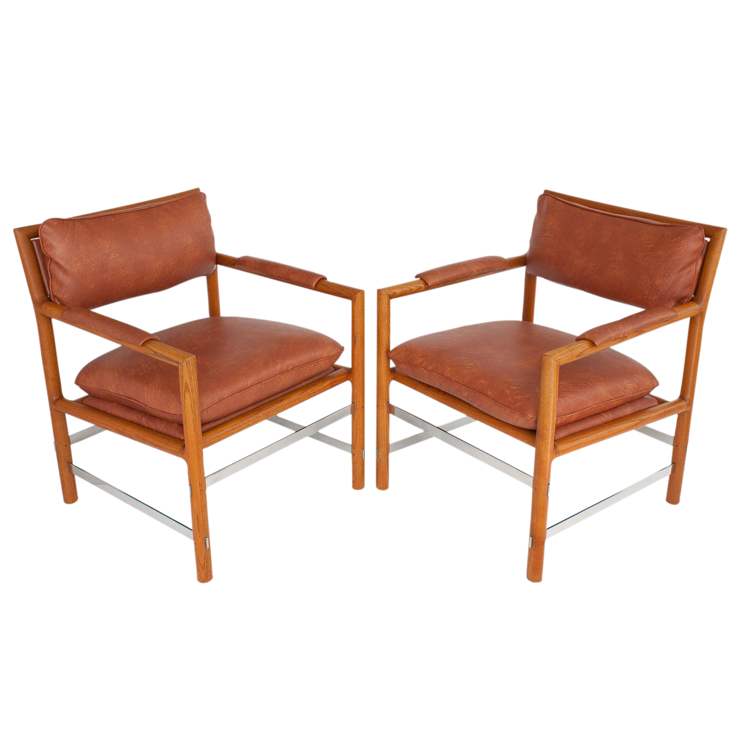 Captivating Edwardu0027s Chairs By Edward Wormley For Dunbar   A Pair