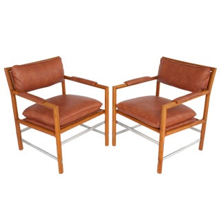 Edward's Chairs by Edward Wormley for Dunbar - A Pair
