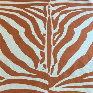 "Lee Jofa ""Dinisen"" Linen in Zebra - 2 Yards"