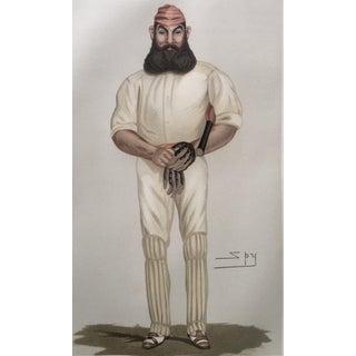 1877 Vanity Fair Cricket Print, W.G. Grace