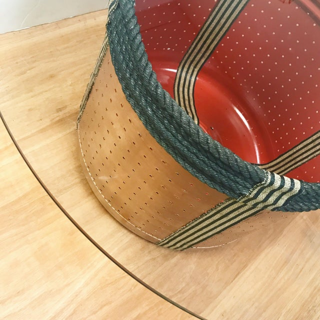 Dryer Drum Coffee Table - Image 4 of 9