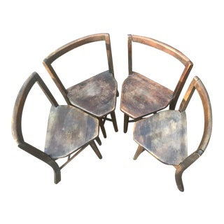 1920s Frank Rieder Seatmore Chairs - Set of 4