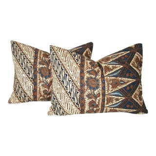 Floral Batik Pillow Covers - A Pair