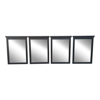 Barbershop/Salon Beveled Edge Mirrors- Set of 4