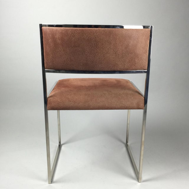 Italian Leather Dining Chairs: 8 Italian Leather Dining Chairs